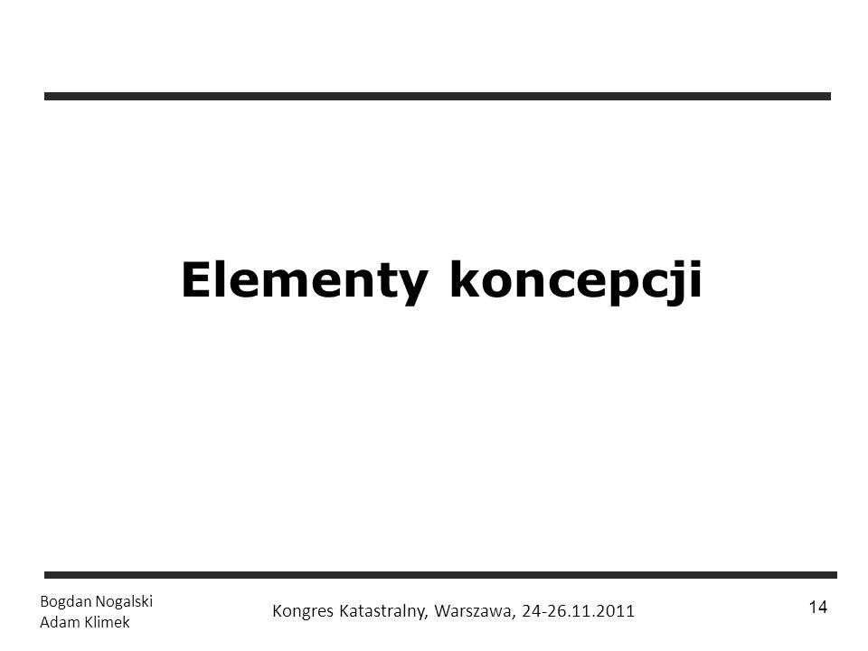 Elementy koncepcji