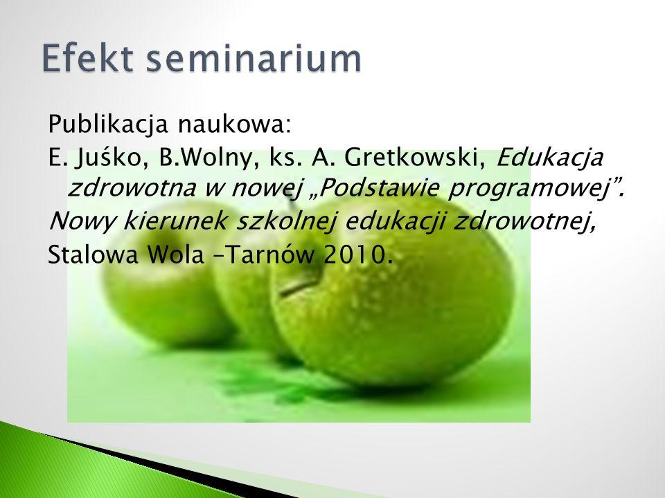 Efekt seminarium