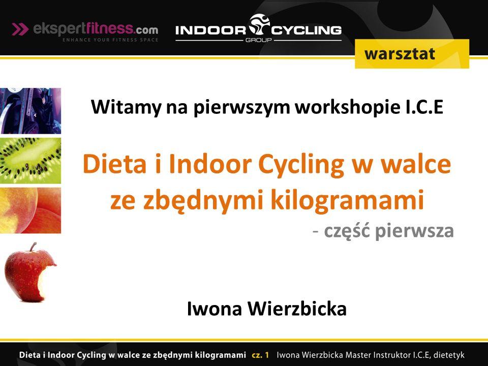 Dieta i Indoor Cycling w walce ze zbędnymi kilogramami