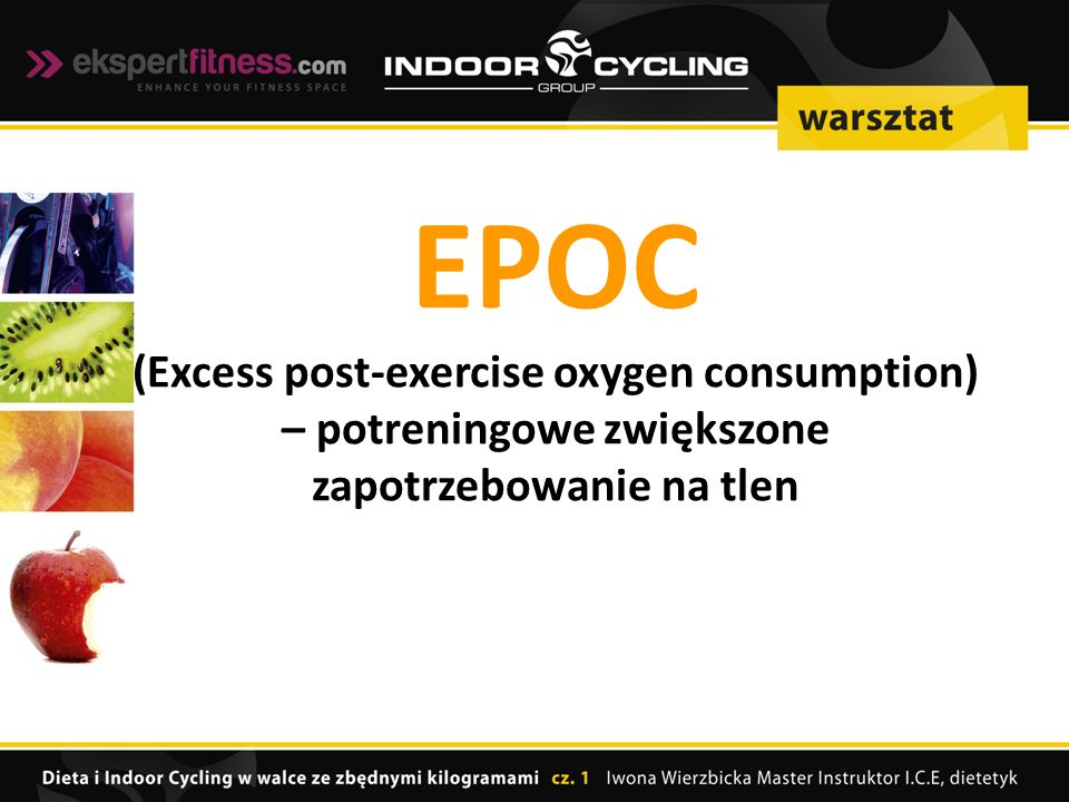 EPOC (Excess post-exercise oxygen consumption)