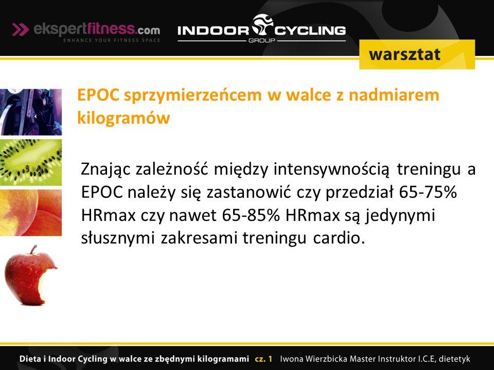 EPOC sprzymierzeńcem w walce z nadmiarem kilogramów