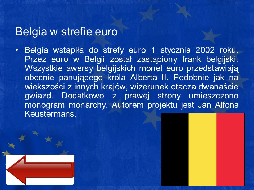 Belgia w strefie euro