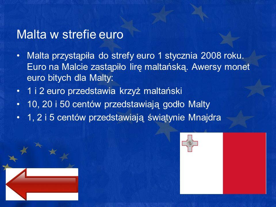 Malta w strefie euro