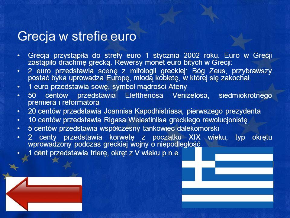 Grecja w strefie euro