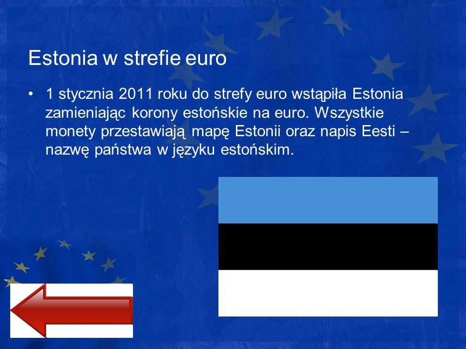 Estonia w strefie euro