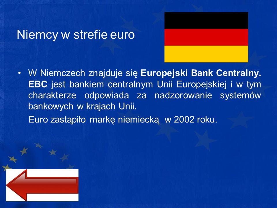 Niemcy w strefie euro
