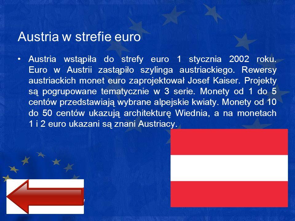Austria w strefie euro