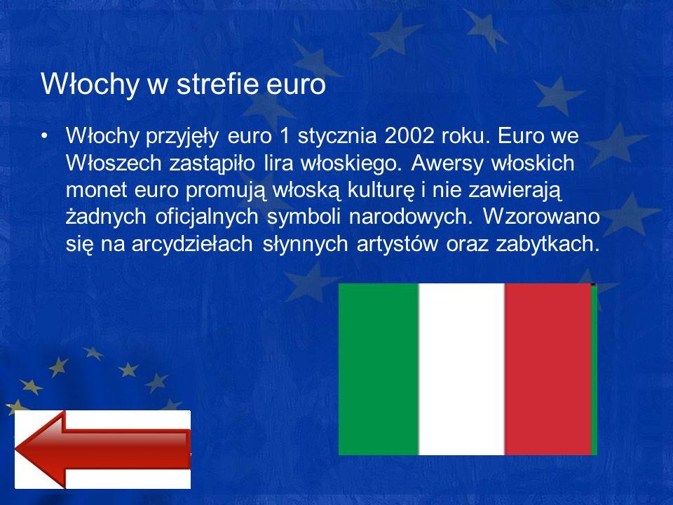 Włochy w strefie euro