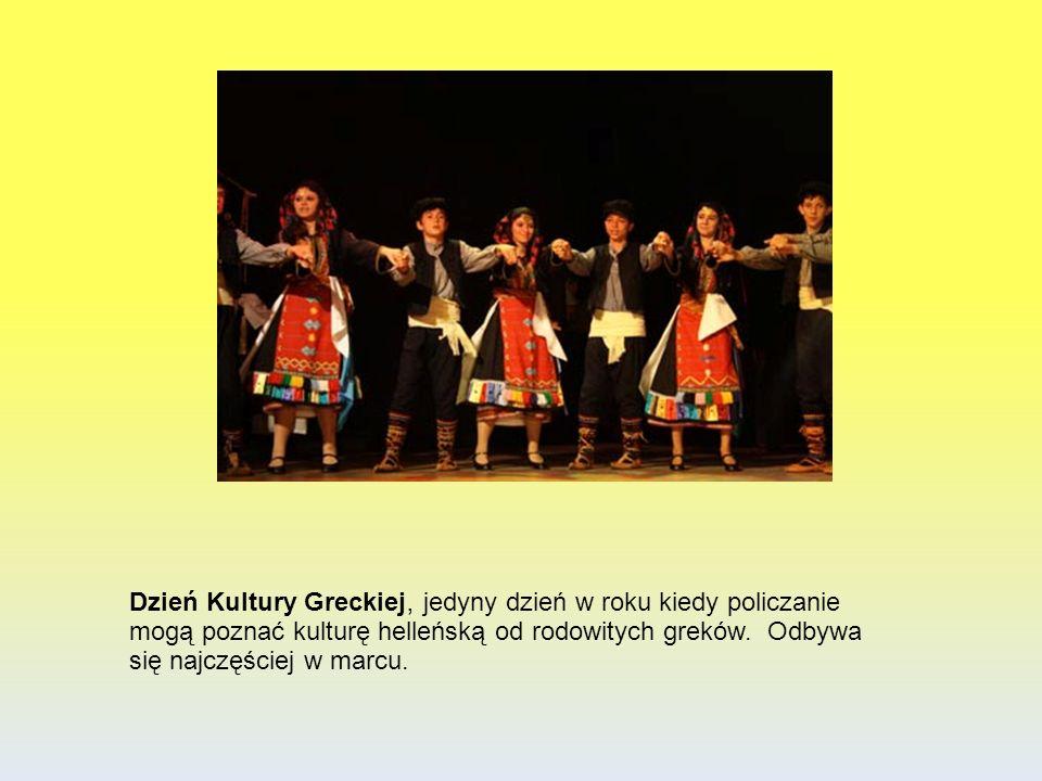 Dzień Kultury Greckiej, jedyny dzień w roku kiedy policzanie mogą poznać kulturę helleńską od rodowitych greków.