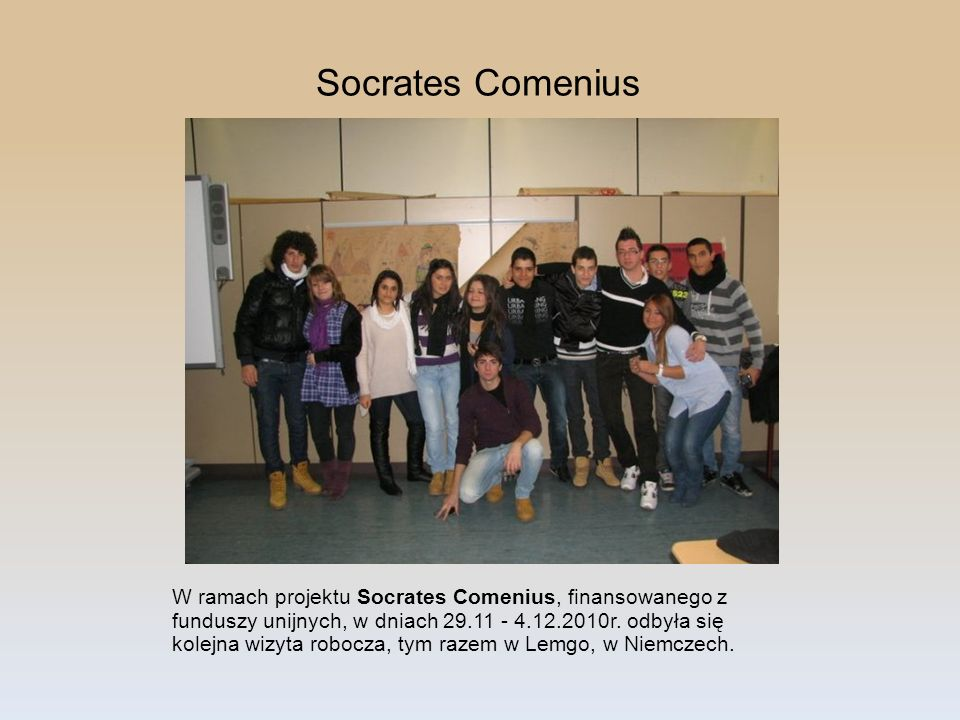 Socrates Comenius
