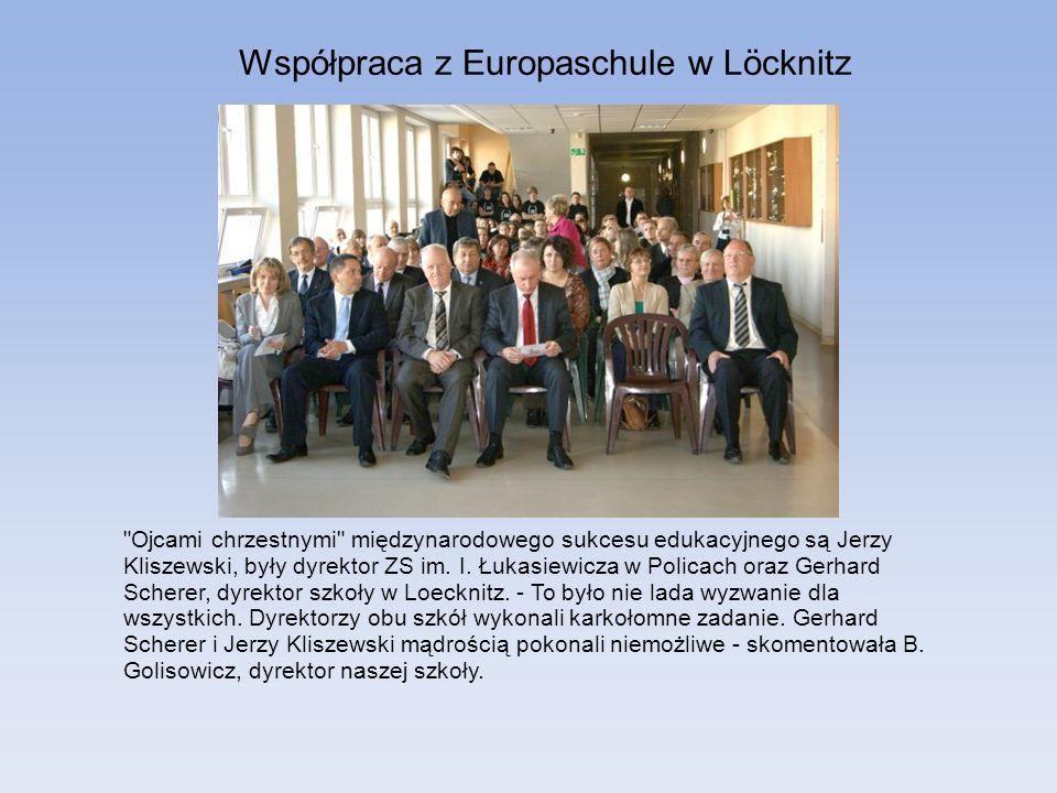 Współpraca z Europaschule w Löcknitz