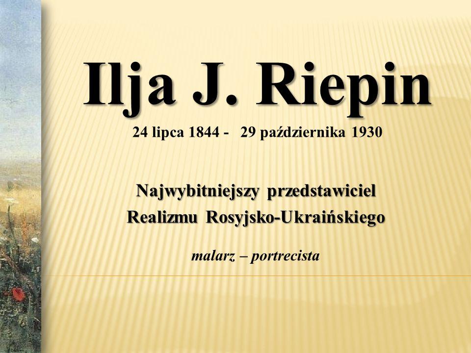 Najwybitniejszy przedstawiciel Realizmu Rosyjsko-Ukraińskiego