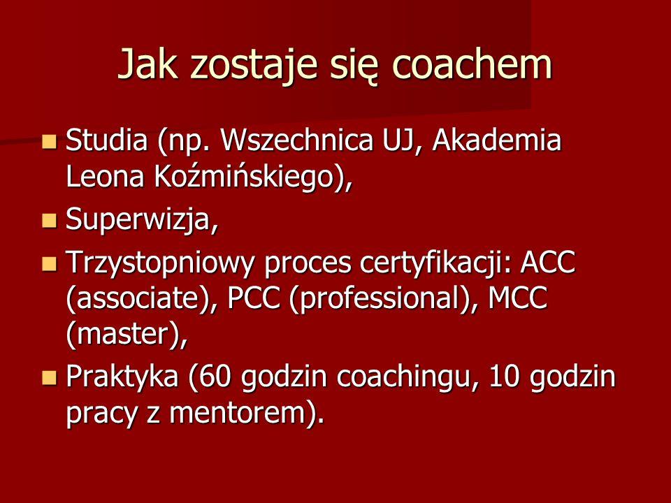 Jak zostaje się coachem