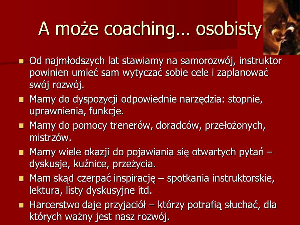A może coaching… osobisty