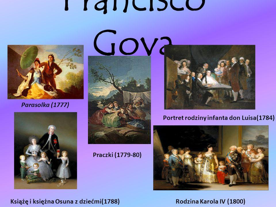 Francisco Goya Parasolka (1777)