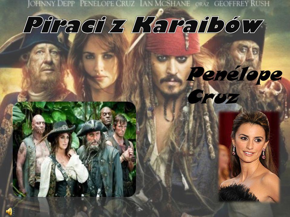Piraci z Karaibów Penélope Cruz
