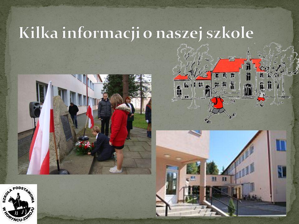 Kilka informacji o naszej szkole