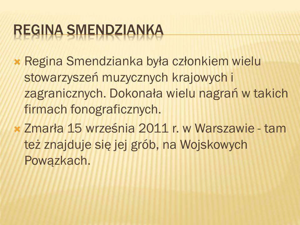 Regina Smendzianka