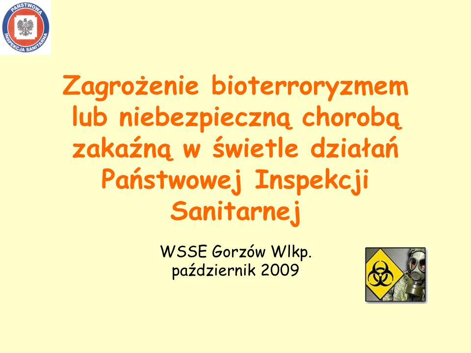 WSSE Gorzów Wlkp. październik 2009