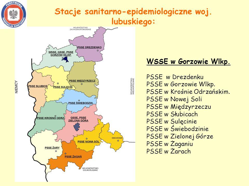Stacje sanitarno-epidemiologiczne woj. lubuskiego:
