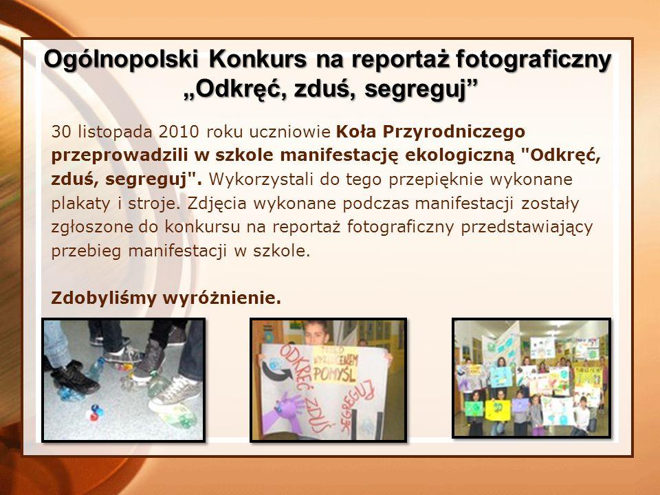 Ogólnopolski Konkurs na reportaż fotograficzny