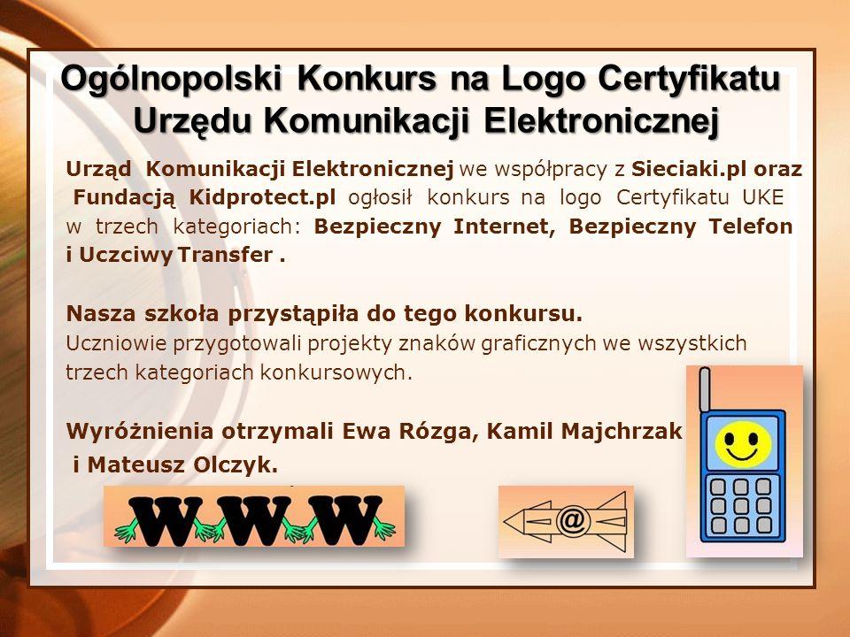 Ogólnopolski Konkurs na Logo Certyfikatu