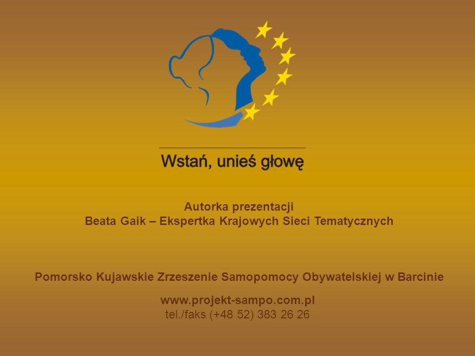 Autorka prezentacji www.projekt-sampo.com.pl