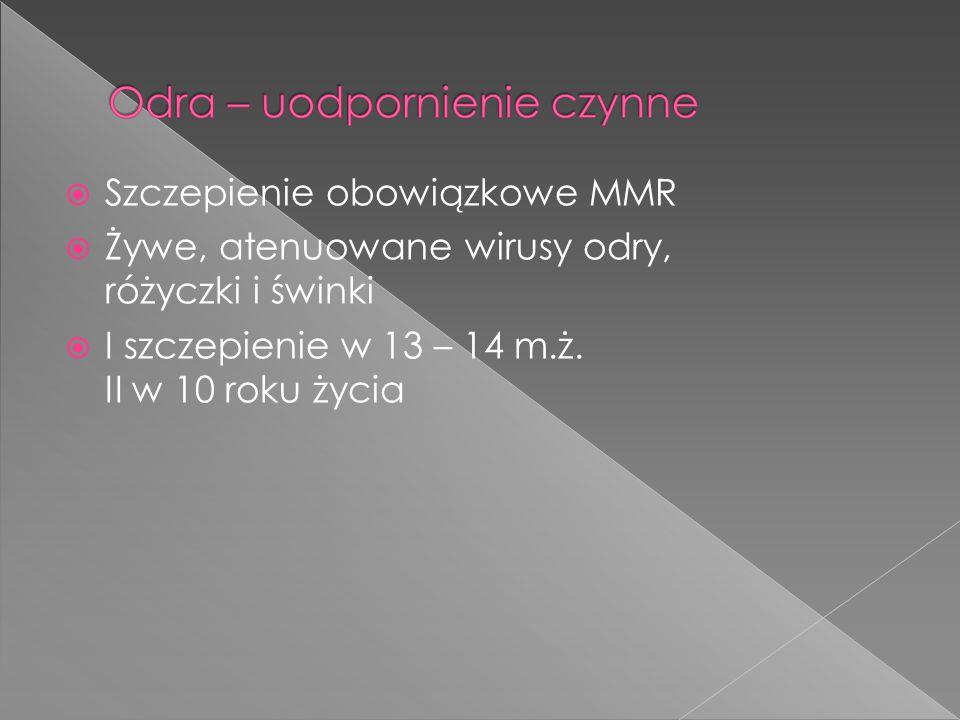 Szczepienie obowiązkowe MMR