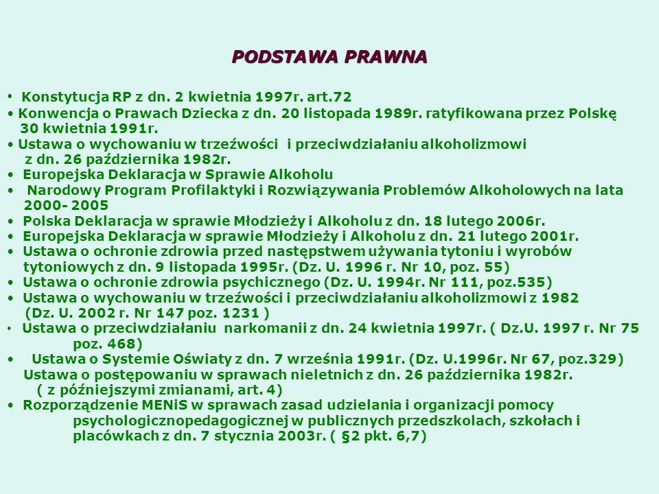 Konstytucja RP z dn. 2 kwietnia 1997r. art.72