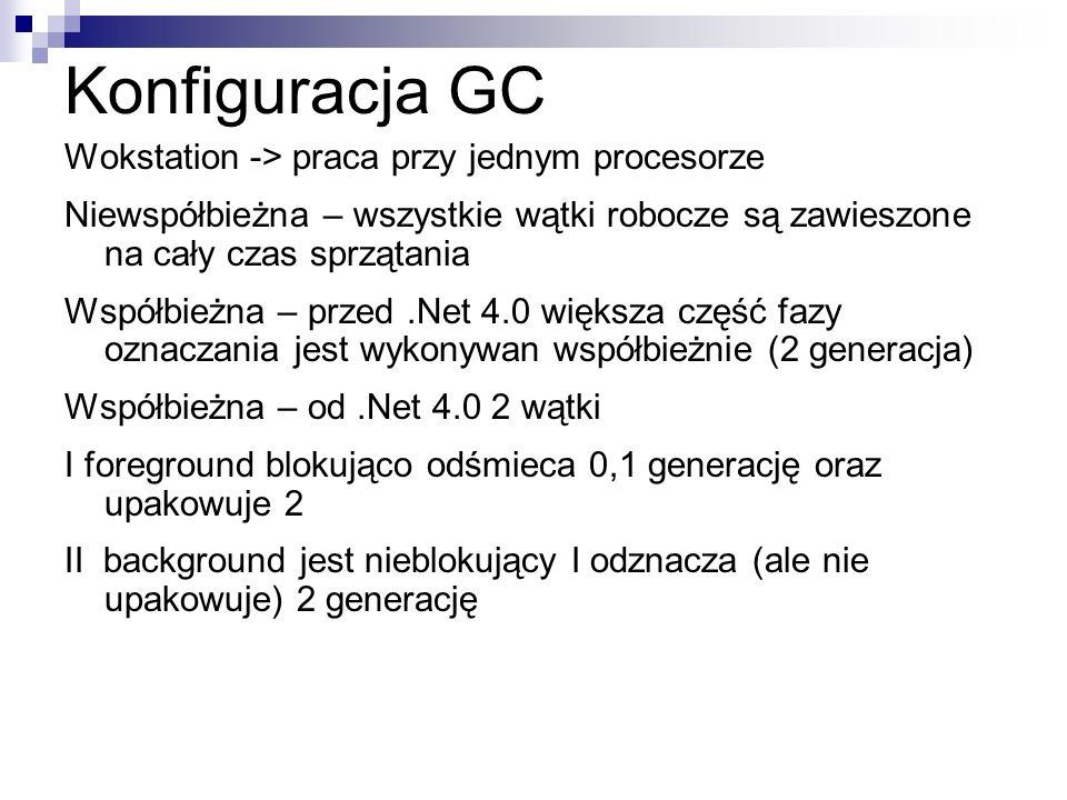 Konfiguracja GC