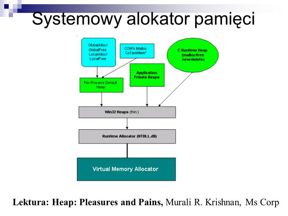 Systemowy alokator pamięci