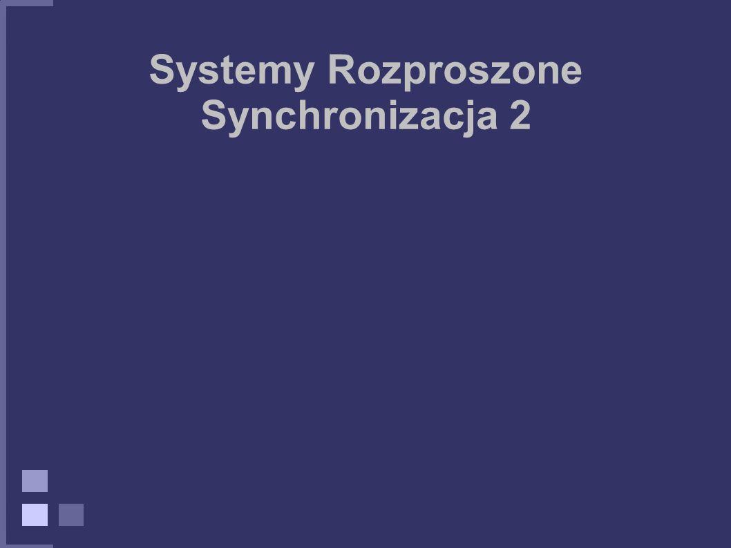 Systemy Rozproszone Synchronizacja 2