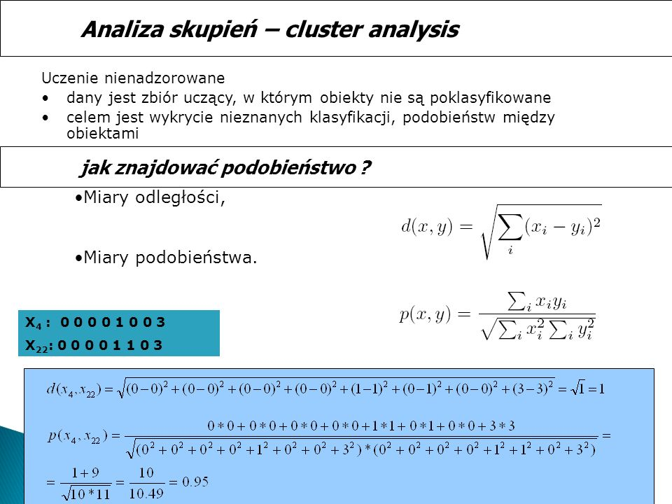 Analiza skupień – cluster analysis