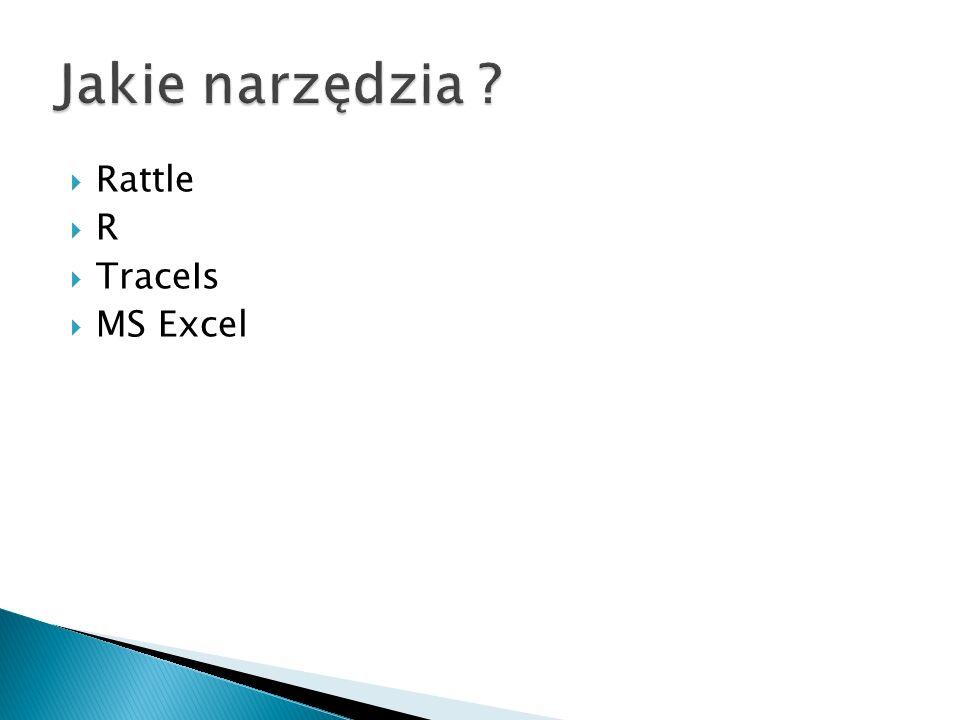 Jakie narzędzia Rattle R TraceIs MS Excel