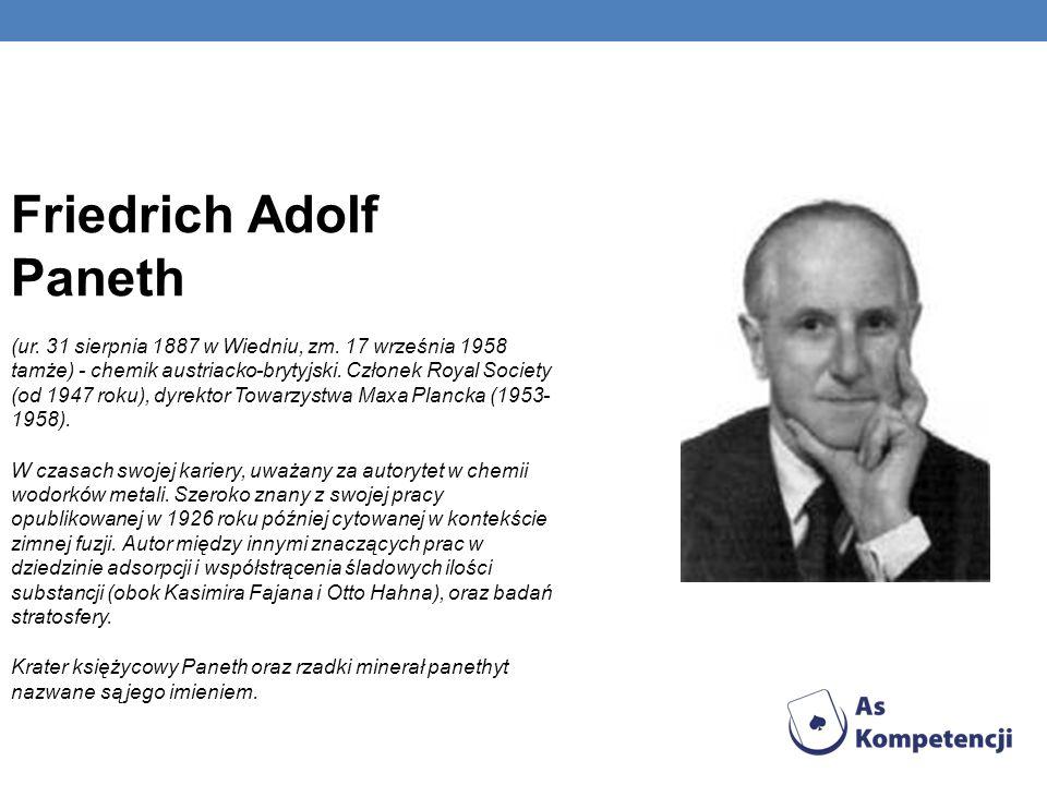 Friedrich Adolf Paneth