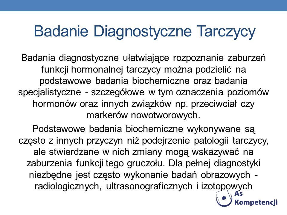 Badanie Diagnostyczne Tarczycy