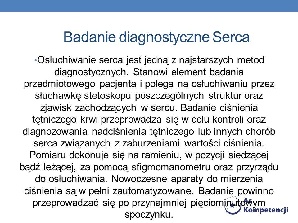 Badanie diagnostyczne Serca