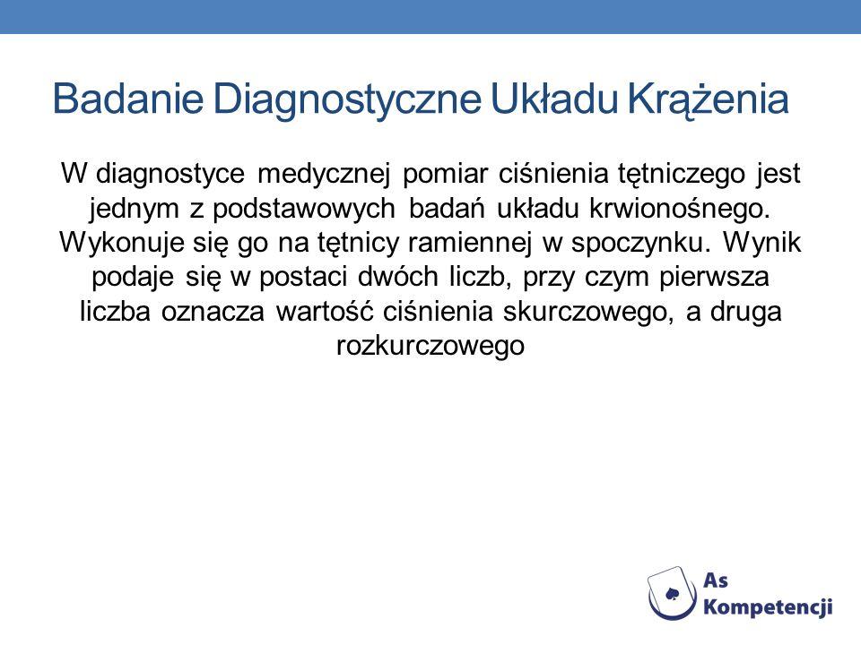 Badanie Diagnostyczne Układu Krążenia