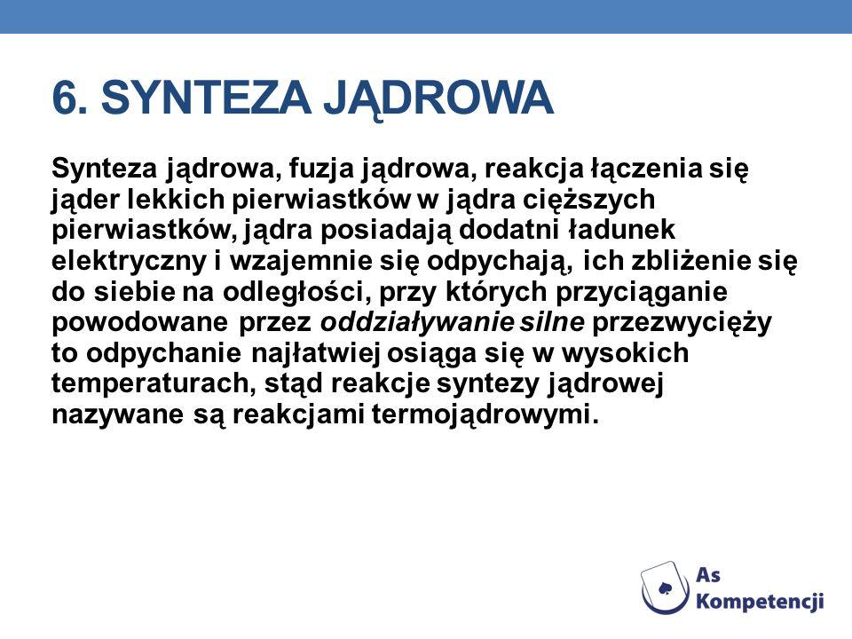 6. Synteza jądrowa