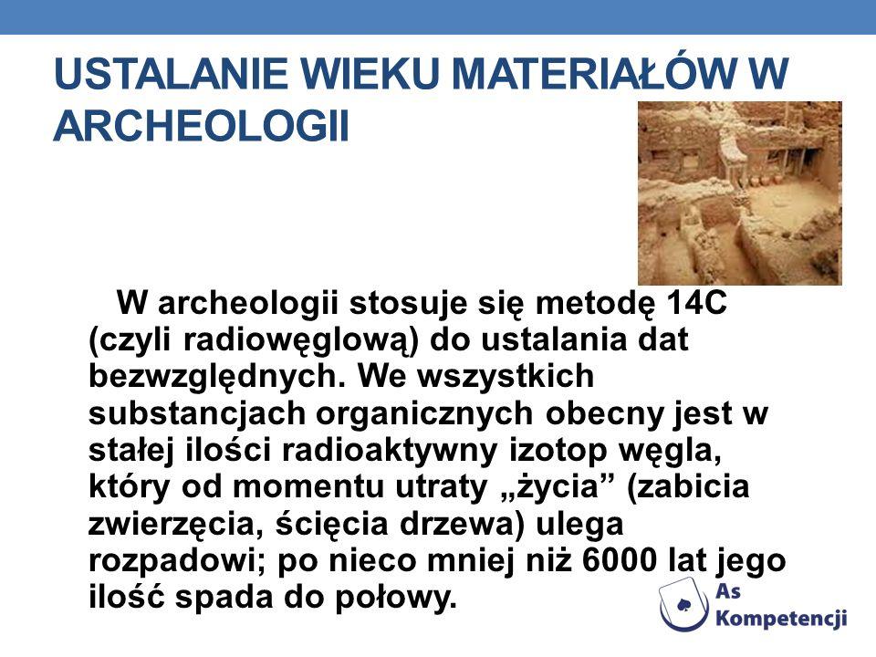 Ustalanie wieku materiałów w archeologii