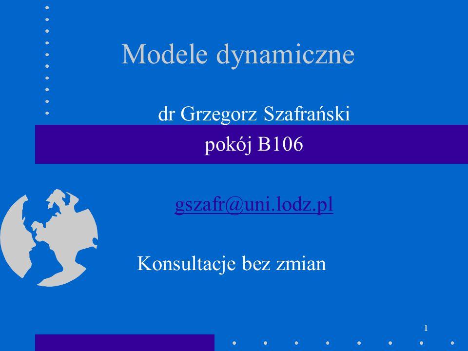 dr Grzegorz Szafrański