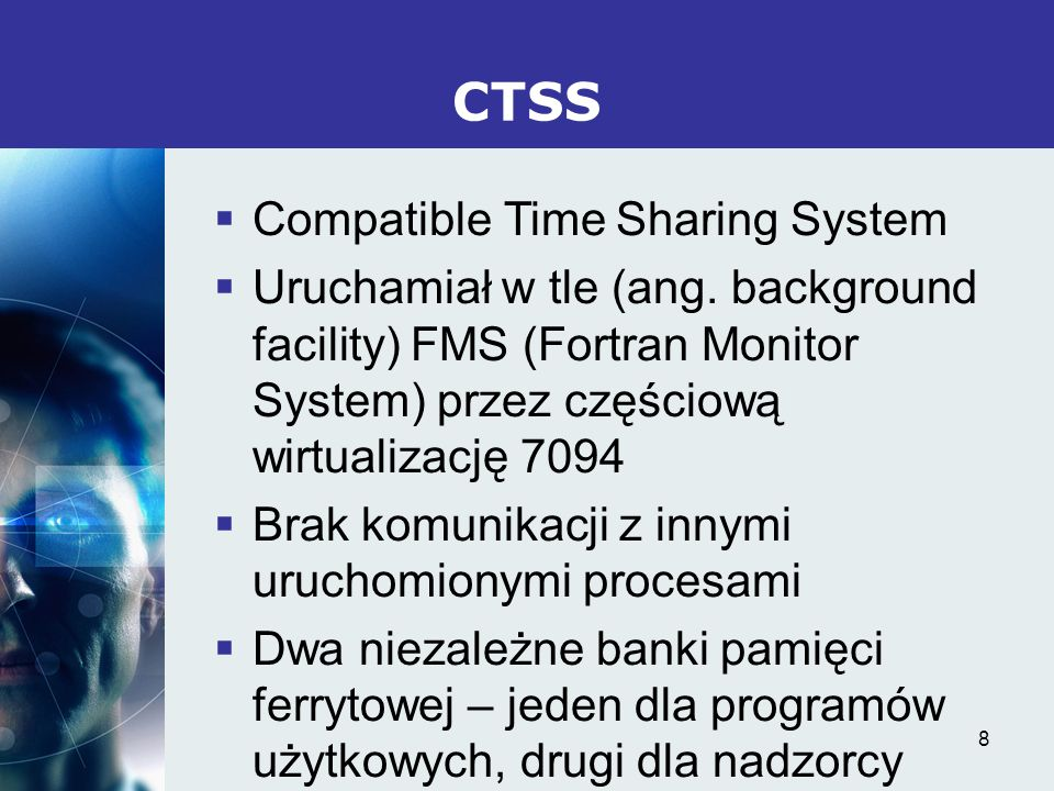 CTSS Compatible Time Sharing System