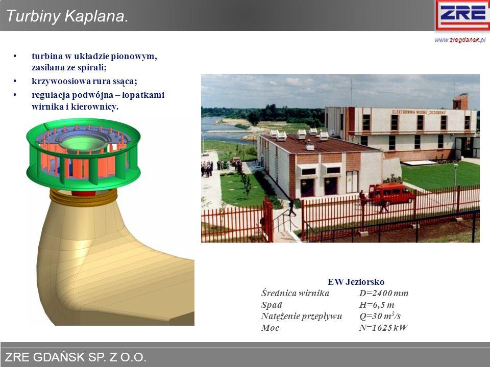 Turbiny Kaplana. www.zregdansk.pl