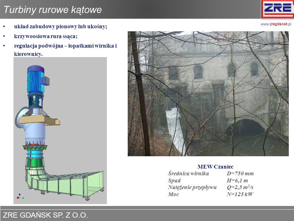 Turbiny rurowe kątowe www.zregdansk.pl