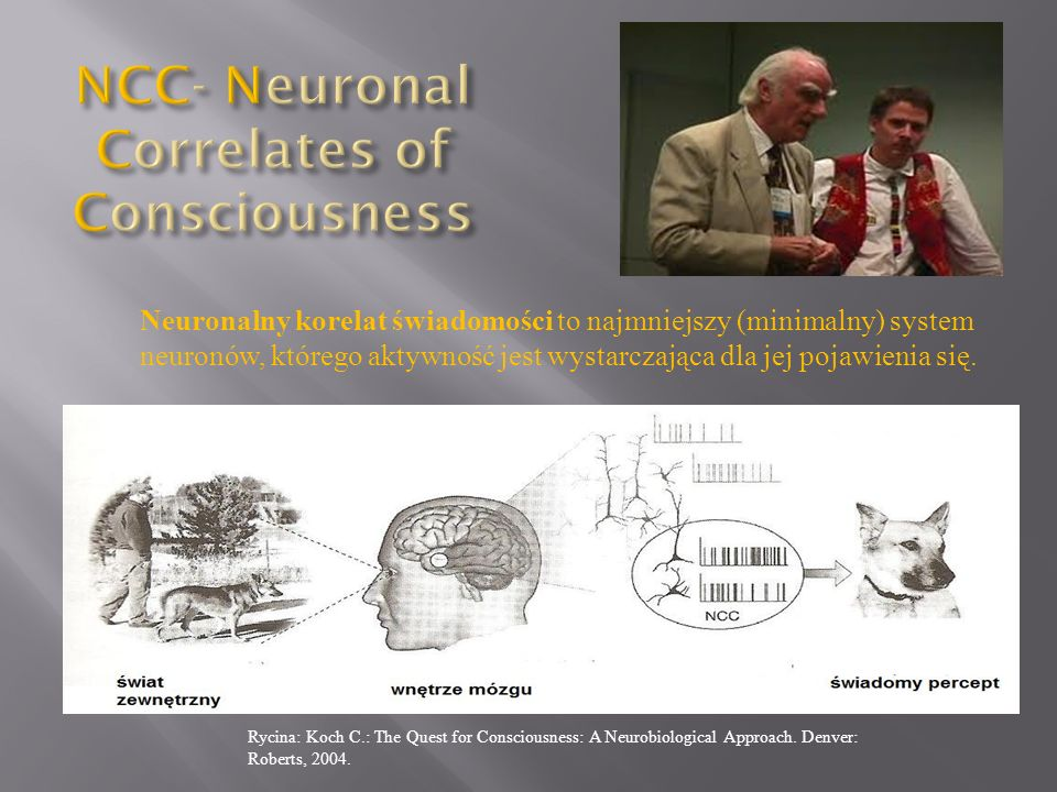 NCC- Neuronal Correlates of Consciousness