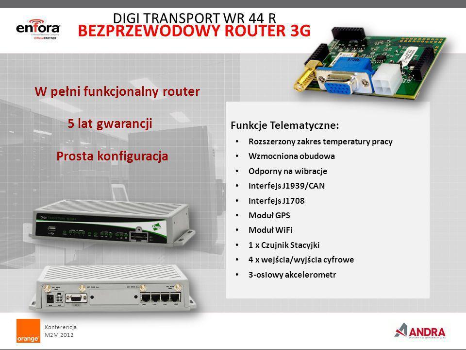 BEZPRZEWODOWY ROUTER 3G W pełni funkcjonalny router