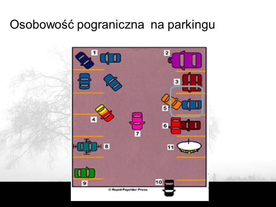 Osobowość pograniczna na parkingu