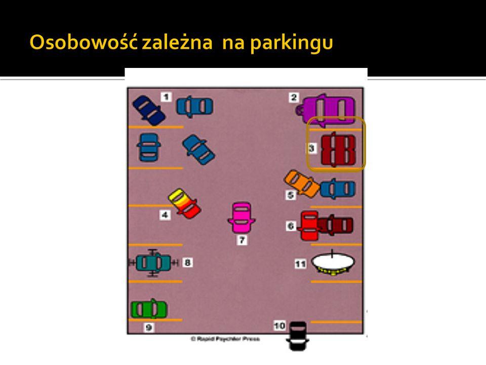 Osobowość zależna na parkingu