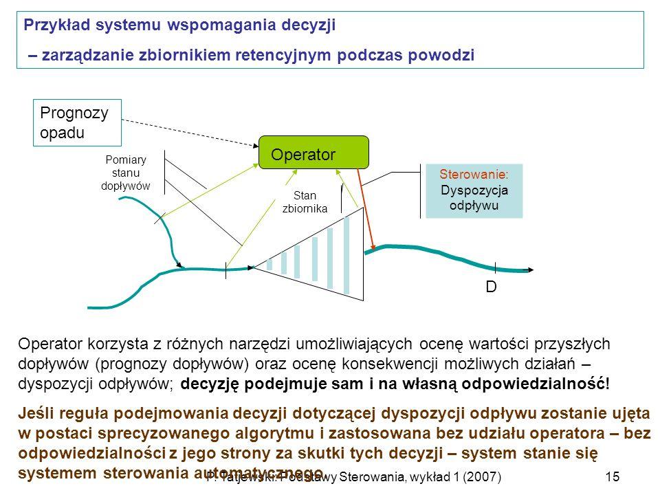 Przykład systemu wspomagania decyzji