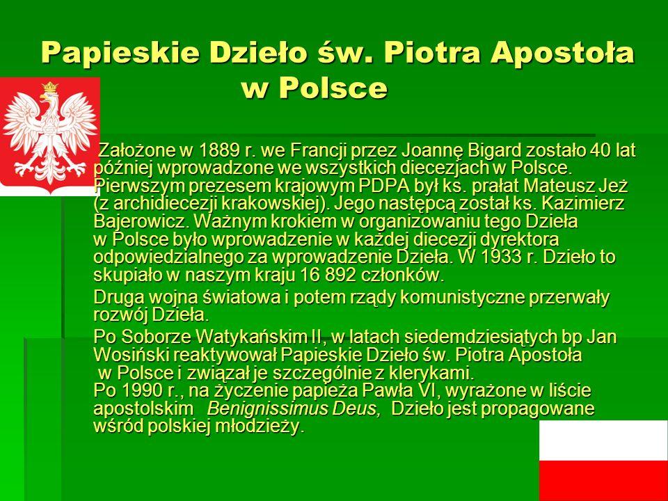 Papieskie Dzieło św. Piotra Apostoła w Polsce